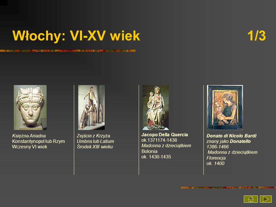 Włochy: VI-XV wiek 1/3 Księżna Ariadna Konstantynopol lub Rzym Wczesny VI wiek.