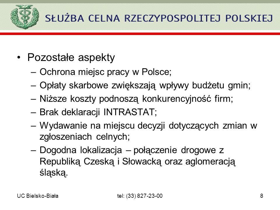 Pozostałe aspekty Ochrona miejsc pracy w Polsce;