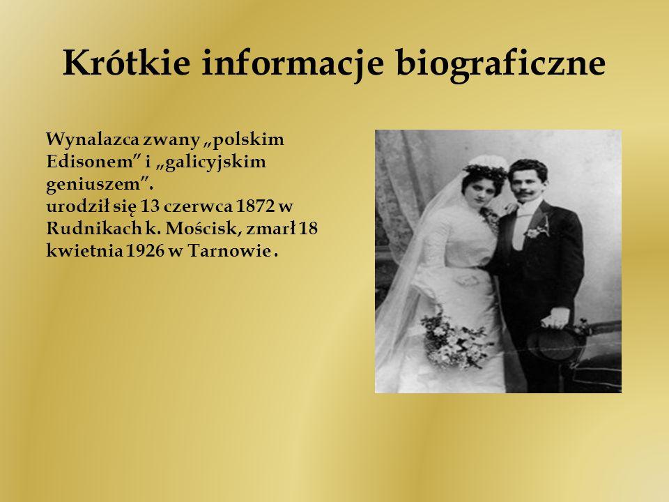 Krótkie informacje biograficzne
