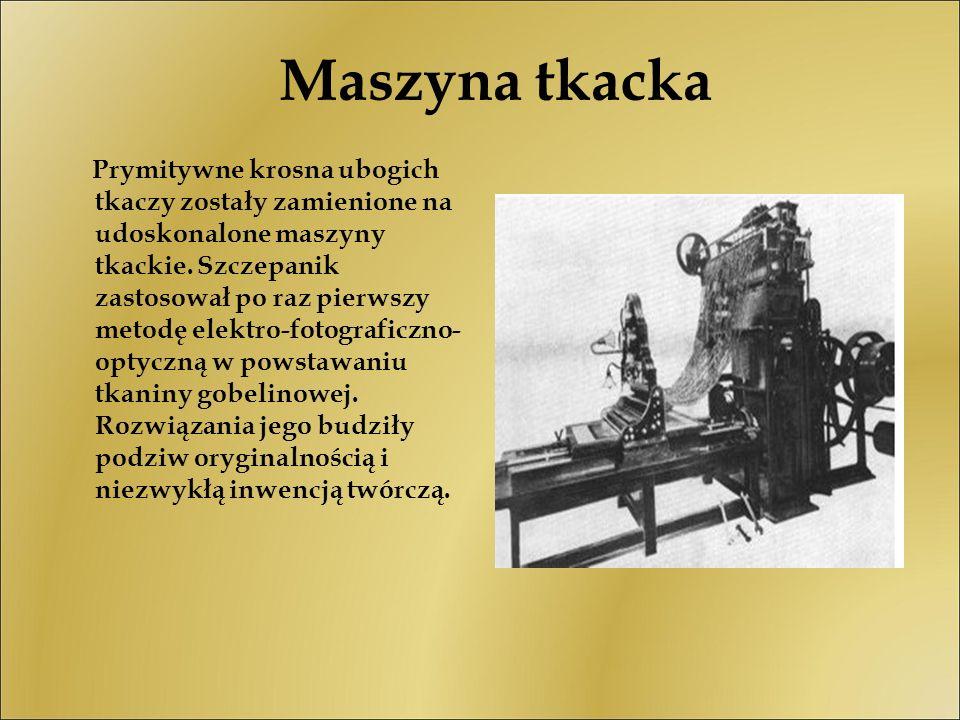 Maszyna tkacka