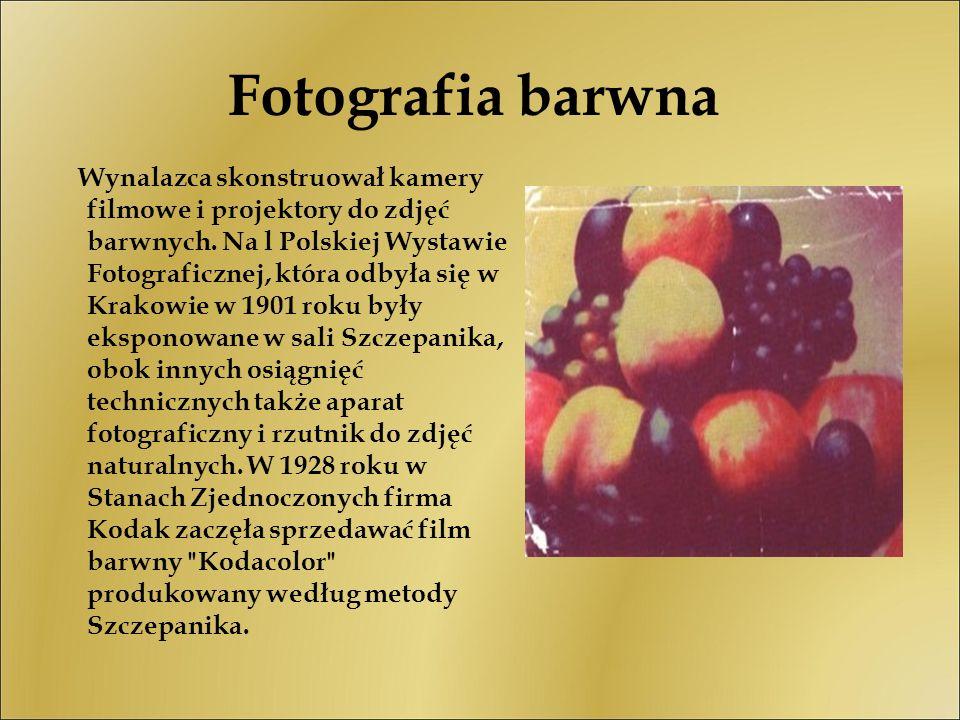 Fotografia barwna