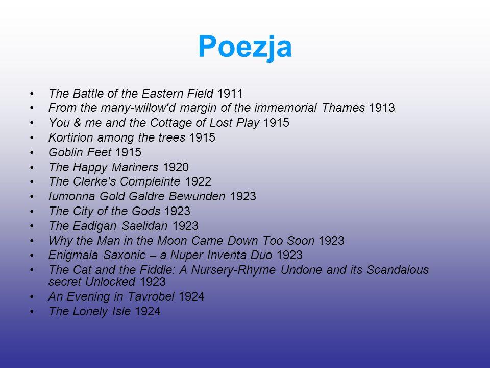 Poezja The Battle of the Eastern Field 1911