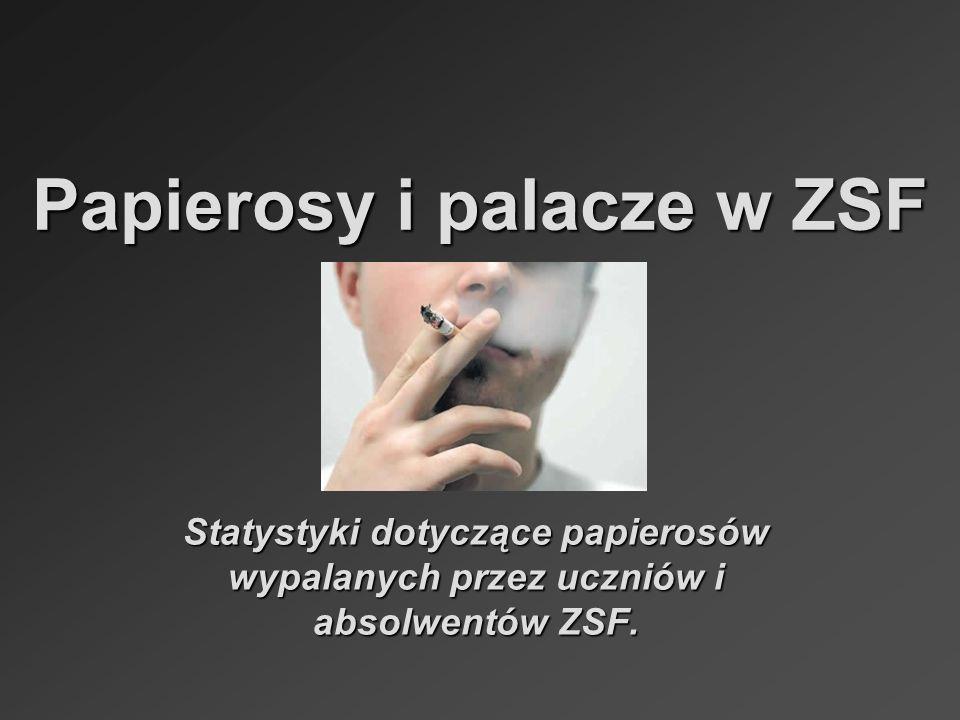 Papierosy i palacze w ZSF