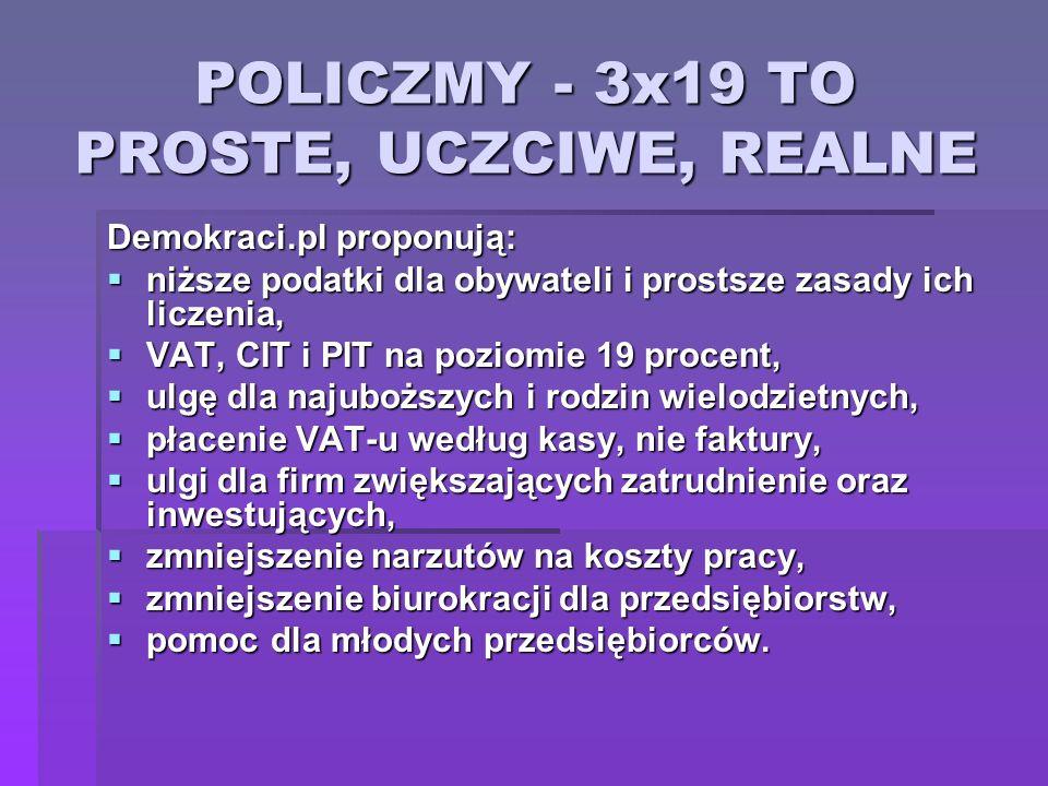 POLICZMY - 3x19 TO PROSTE, UCZCIWE, REALNE