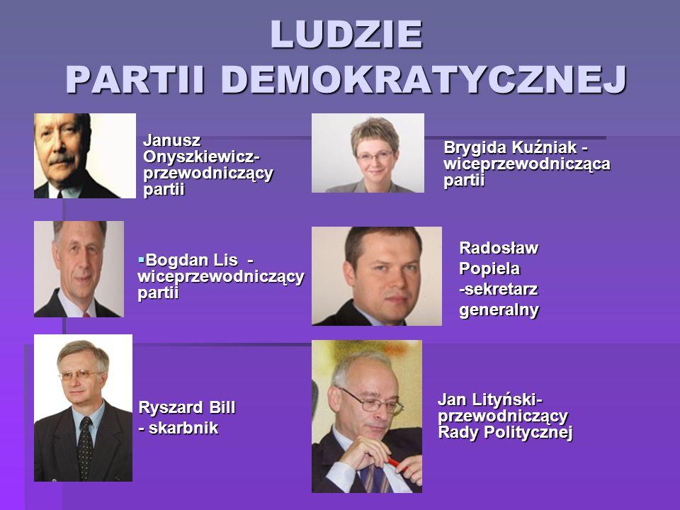 LUDZIE PARTII DEMOKRATYCZNEJ