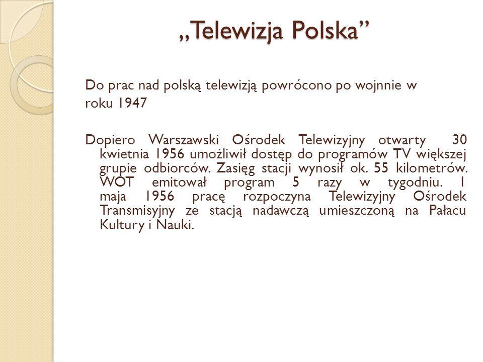 """""""Telewizja Polska"""