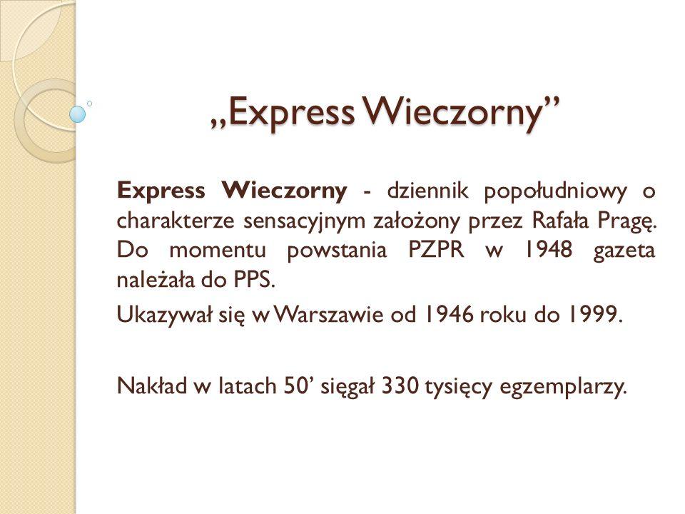 """""""Express Wieczorny"""