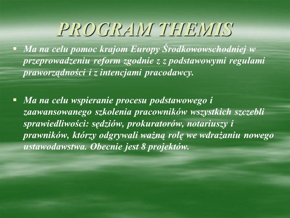 PROGRAM THEMIS