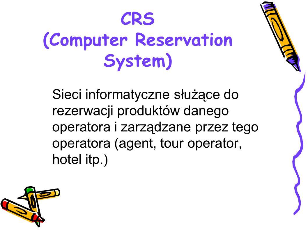 CRS (Computer Reservation System)