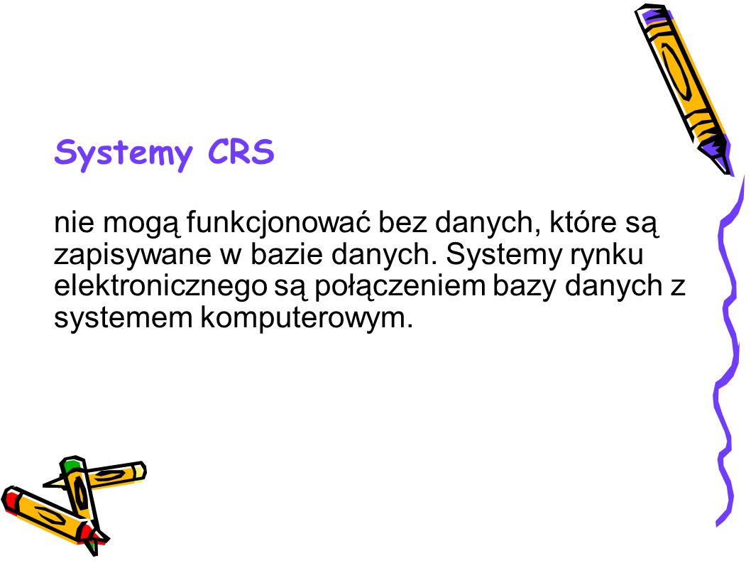 Systemy CRS
