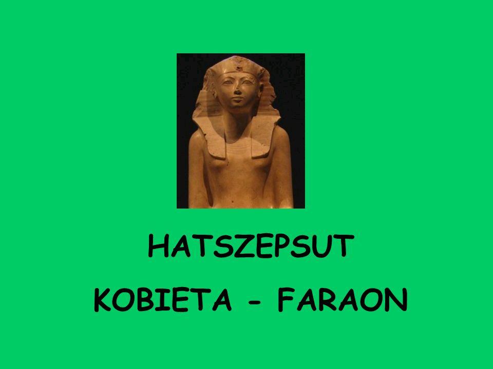 HATSZEPSUT KOBIETA - FARAON