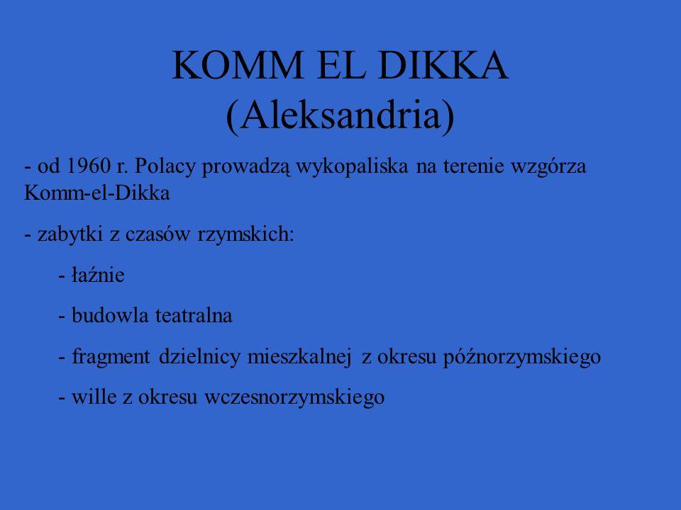 KOMM EL DIKKA (Aleksandria)