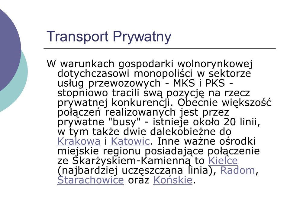 Transport Prywatny