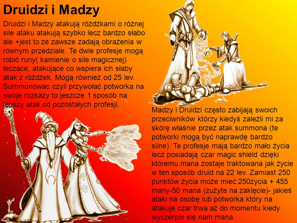 Druidzi i Madzy