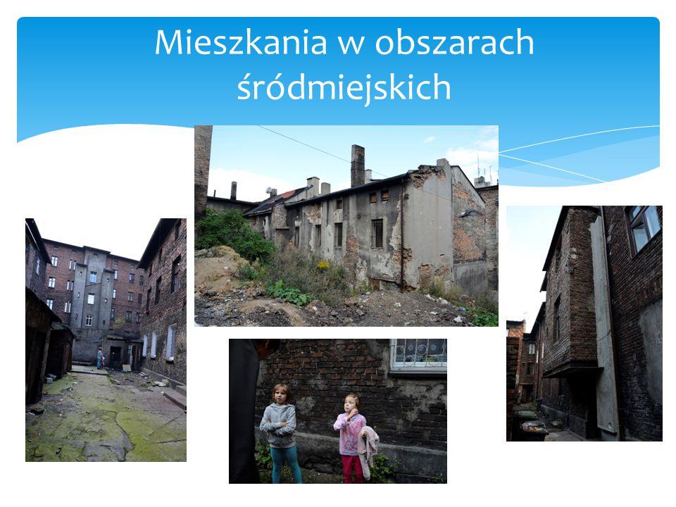 Mieszkania w obszarach śródmiejskich