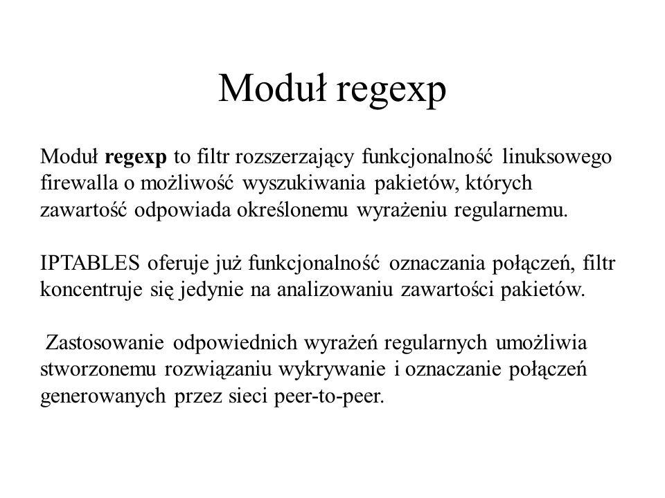 Moduł regexp