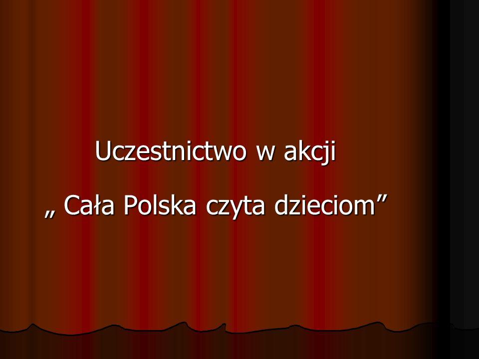 """"""" Cała Polska czyta dzieciom"""