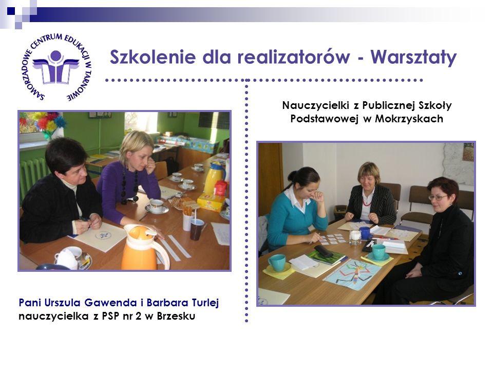 Nauczycielki z Publicznej Szkoły Podstawowej w Mokrzyskach