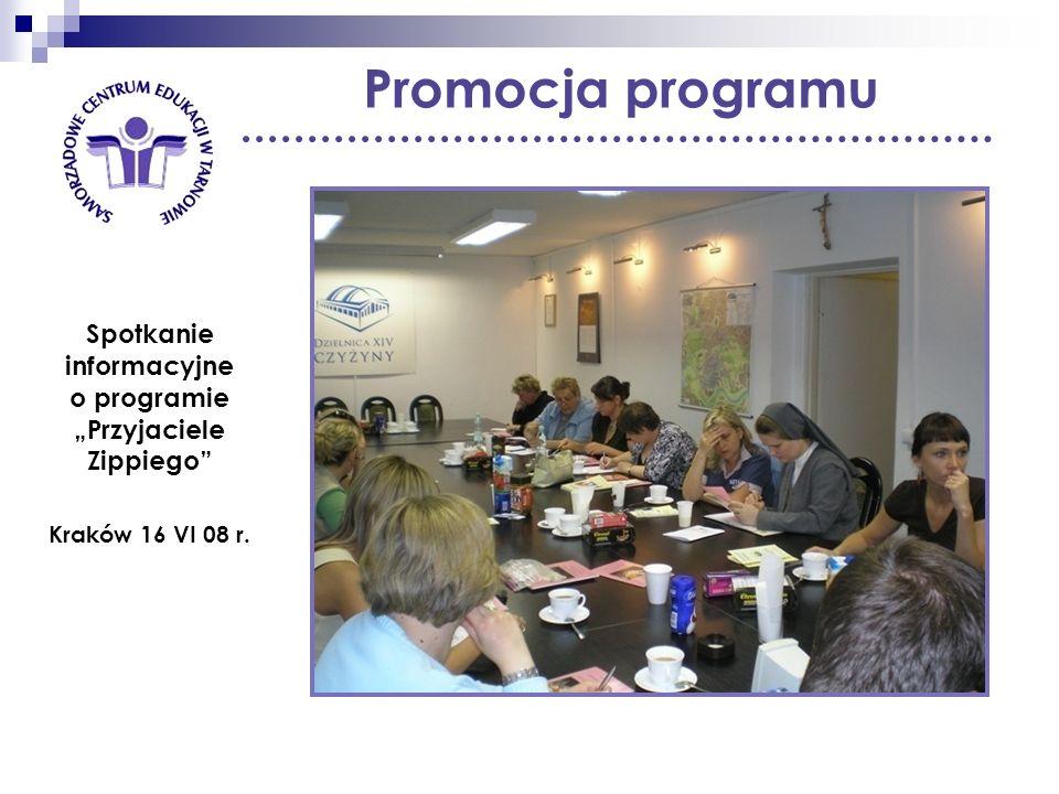 """Spotkanie informacyjne o programie """"Przyjaciele Zippiego"""