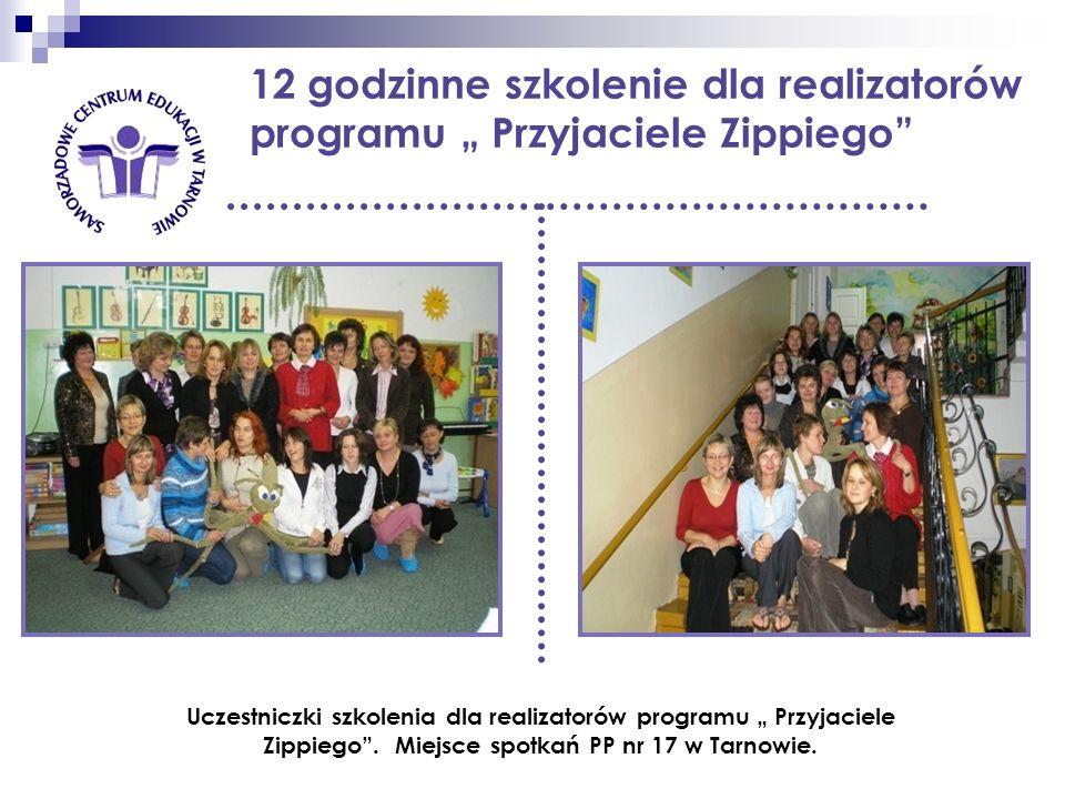 """12 godzinne szkolenie dla realizatorów programu """" Przyjaciele Zippiego"""