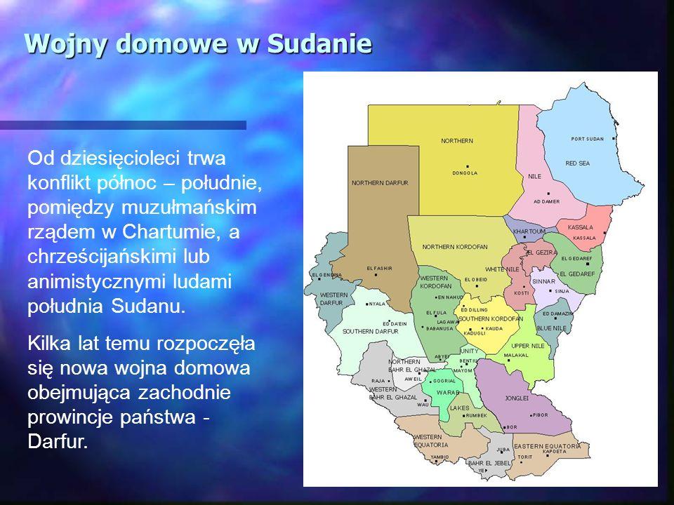 Wojny domowe w Sudanie