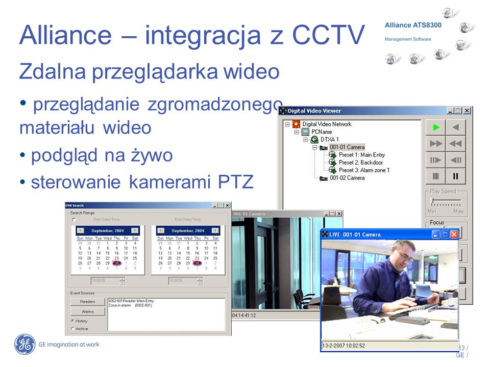 Alliance – integracja z CCTV