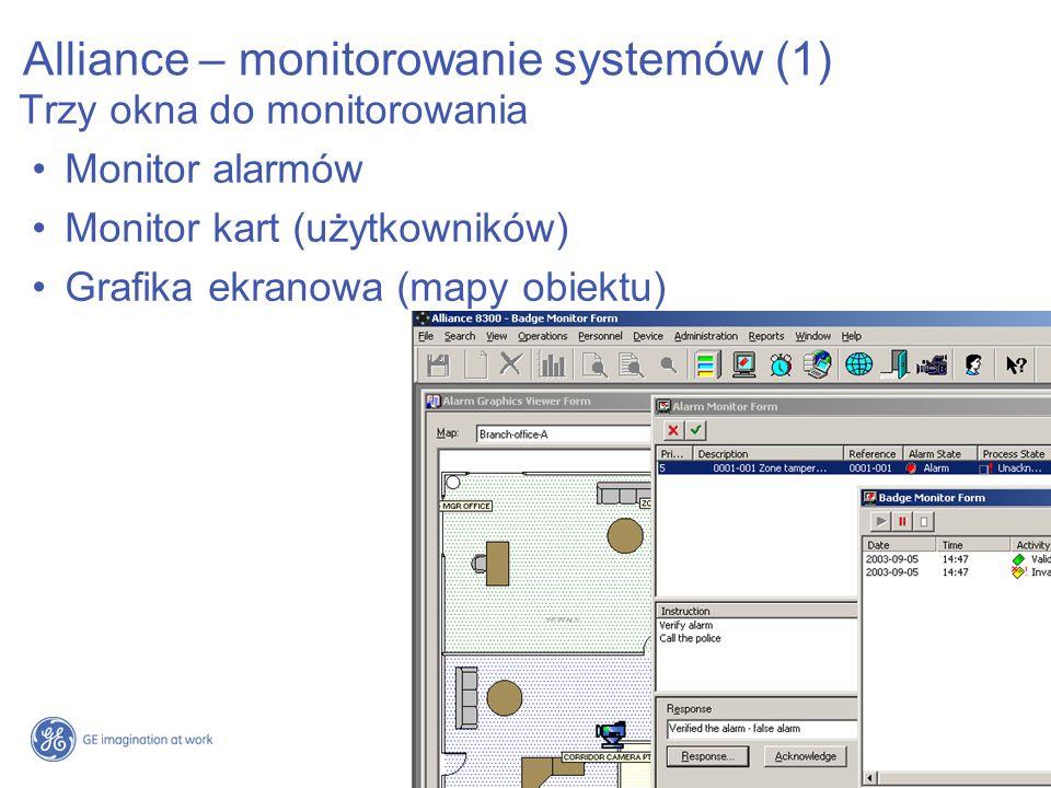 Alliance – monitorowanie systemów (1)