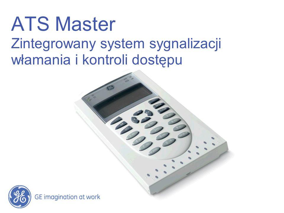 14:12 ATS Master Zintegrowany system sygnalizacji włamania i kontroli dostępu