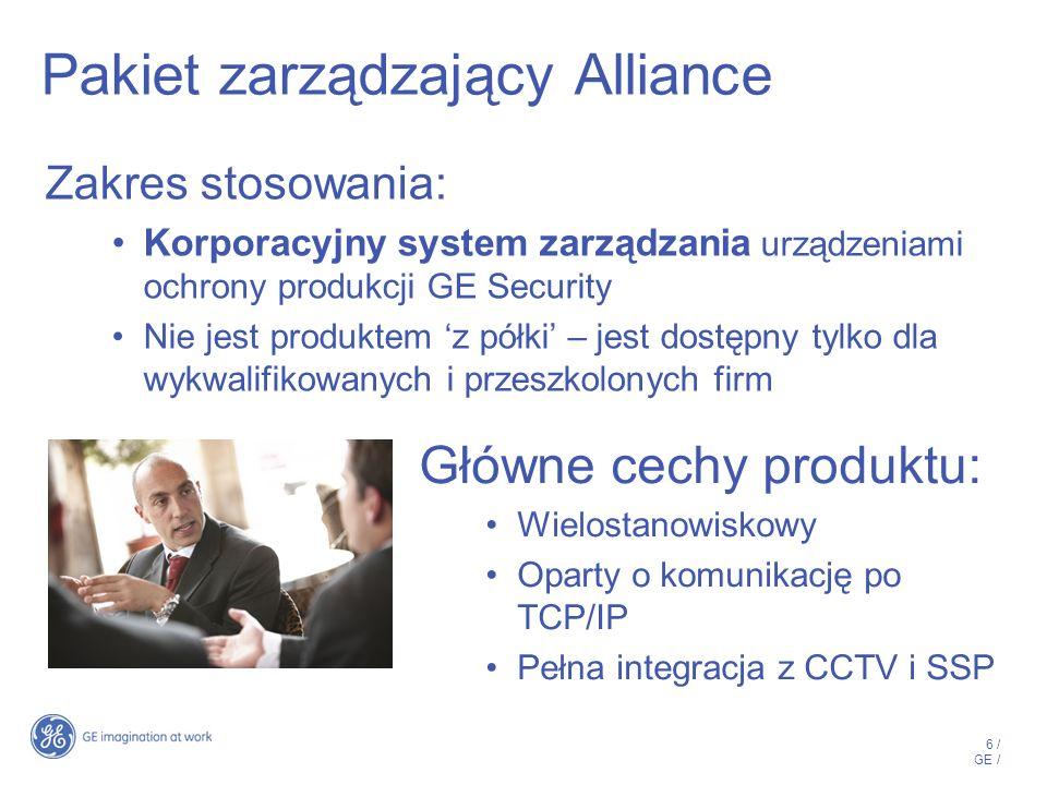 Pakiet zarządzający Alliance