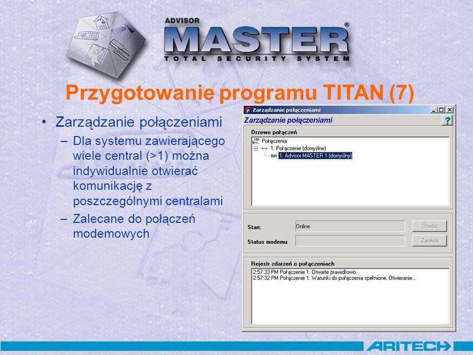 Przygotowanie programu TITAN (7)