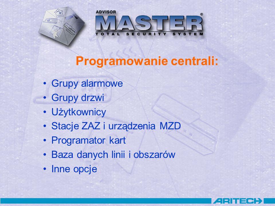 Programowanie centrali: