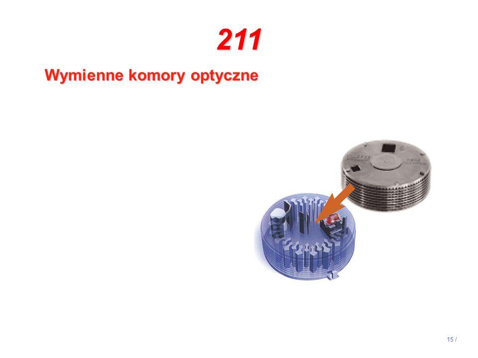 14:13 211 Wymienne komory optyczne