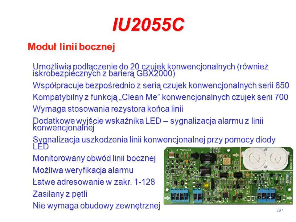IU2055C Moduł linii bocznej