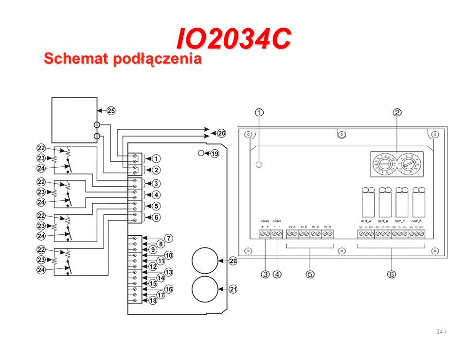 14:13 IO2034C Schemat podłączenia
