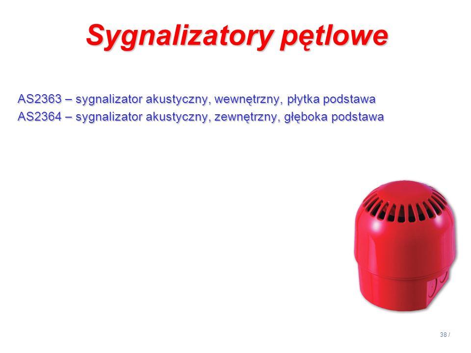 Sygnalizatory pętlowe