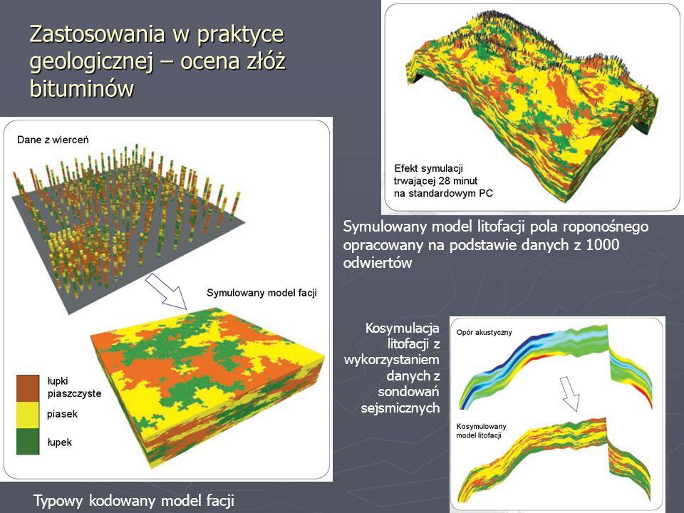 Zastosowania w praktyce geologicznej – ocena złóż bituminów