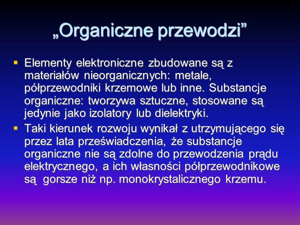 """""""Organiczne przewodzi"""