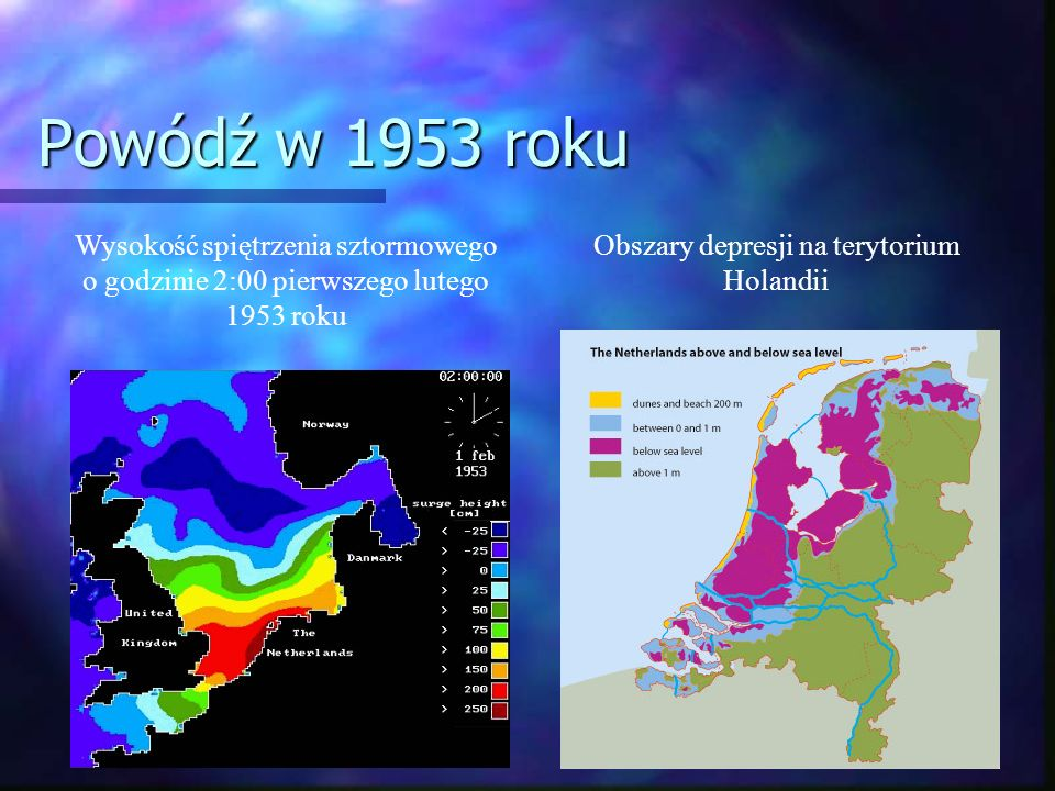Obszary depresji na terytorium Holandii