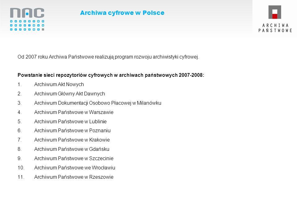 Archiwa cyfrowe w Polsce