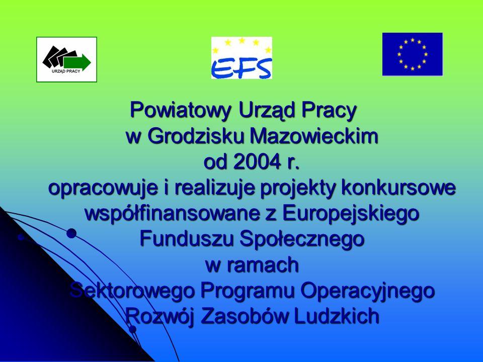 Powiatowy Urząd Pracy w Grodzisku Mazowieckim od 2004 r