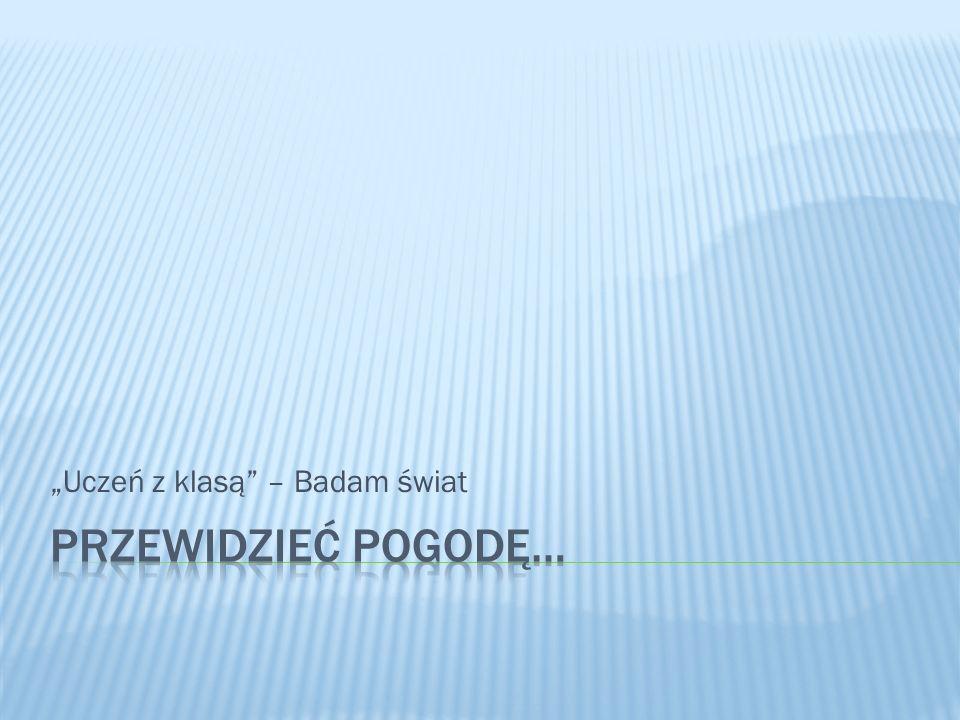"""""""Uczeń z klasą – Badam świat"""