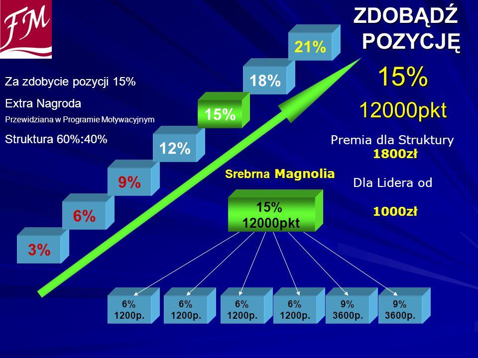 15% ZDOBĄDŹ POZYCJĘ 12000pkt 21% 18% 15% 12% 9% 6% 3% 15% 12000pkt
