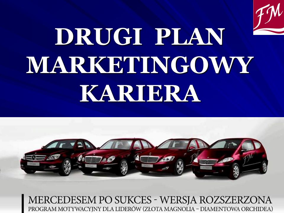 DRUGI PLAN MARKETINGOWY KARIERA