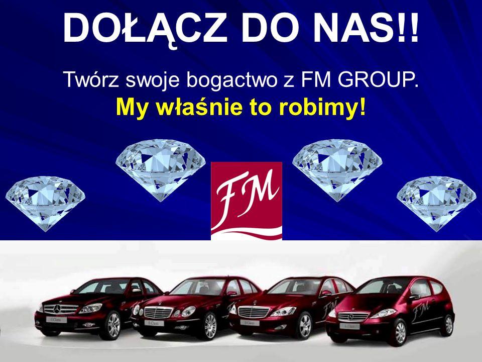 Twórz swoje bogactwo z FM GROUP.