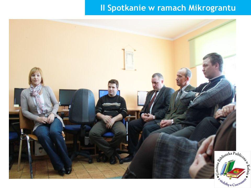 II Spotkanie w ramach Mikrograntu