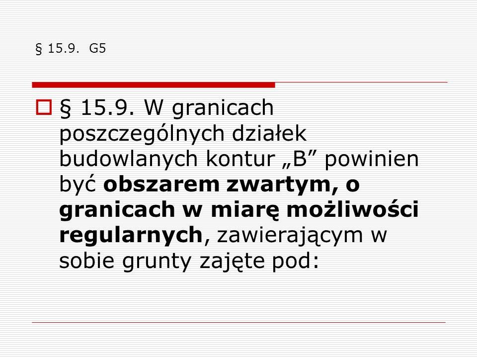 § 15.9. G5