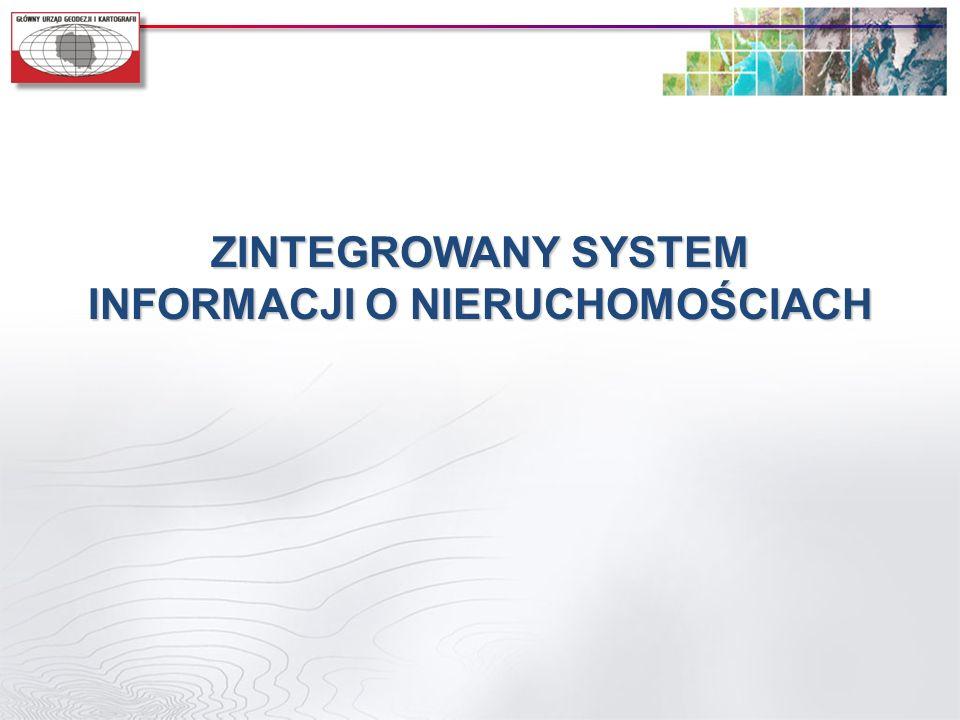 ZINTEGROWANY SYSTEM INFORMACJI O NIERUCHOMOŚCIACH