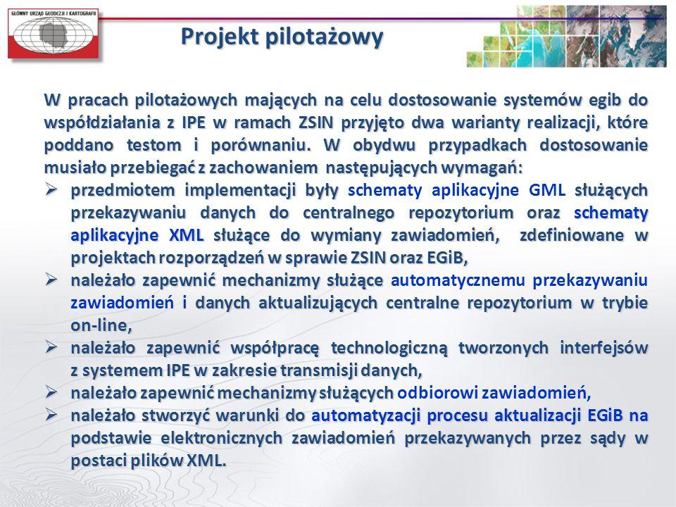 Projekt pilotażowy