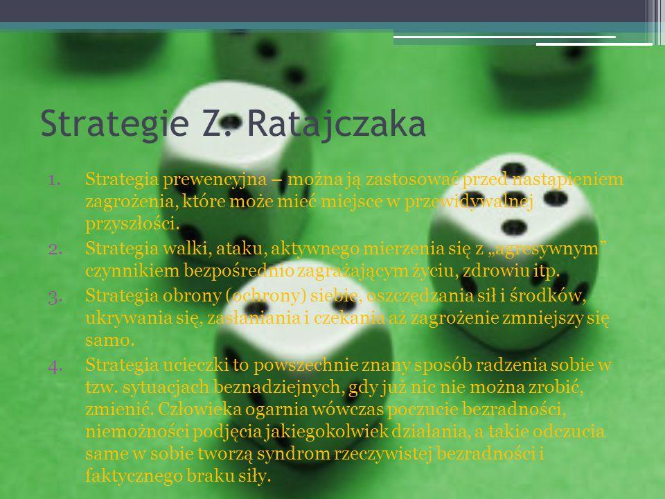 Strategie Z. Ratajczaka