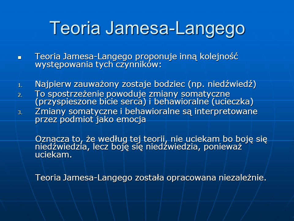 Teoria Jamesa-Langego